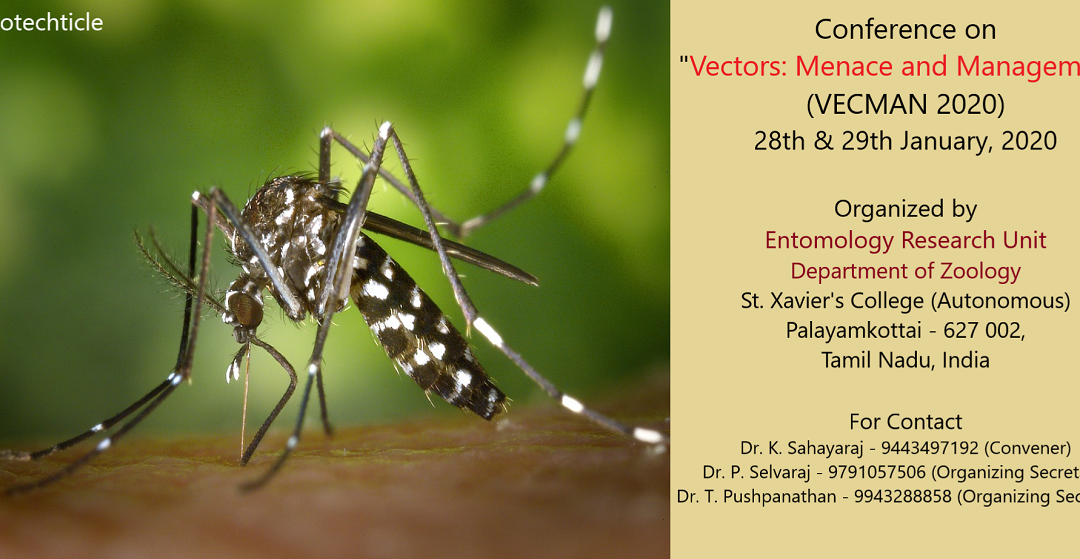 Conference on Vector: Menace & Management
