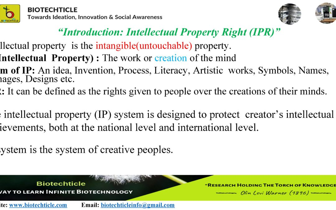 A brief introduction of IPR